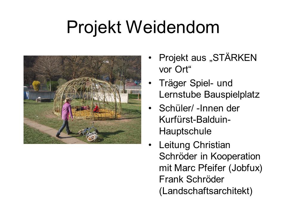 Projekt Weidendom