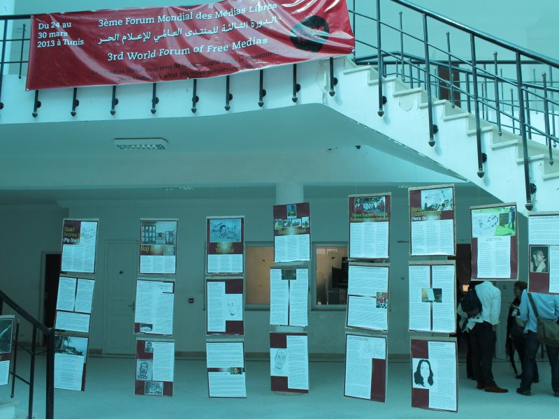 WSF Free Media Tunis 2013 i